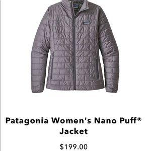 Women's Patagonia Grey Mono Jacket